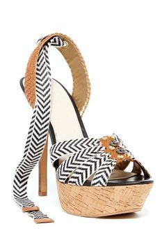 ddba32a7886f Sam Edelman Mela Platfrom Wraparound Sandal on HauteLook Fab Shoes