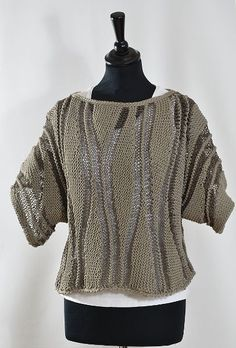 Fabulous Crochet a Little Black Crochet Dress Ideas. Georgeous Crochet a Little Black Crochet Dress Ideas. Mode Crochet, Knit Crochet, Crochet Vests, Knitting Stitches, Free Knitting, Black Crochet Dress, Vest Pattern, Knit Fashion, Fashion Outfits
