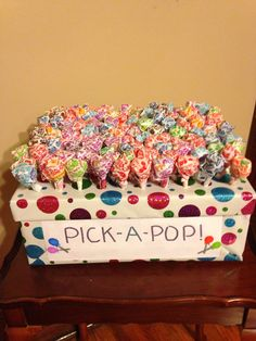 Pick-A-Pop: only a few suckers are marked and will receive a big prize along with keeping the sucker, unmarked pops just keep the pop. Carnival Party Games, Fall Carnival, Carnival Birthday Parties, Carnival Themes, Circus Birthday, Birthday Party Themes, School Carnival Games, Carnival Booths, Backyard Carnival