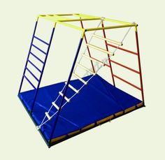 Лестница необычной формы для развития вестибулярного аппарата.  Развитие координации и вестибулярного аппарата во многом определяет здоровье и качество жизни человека. Тренировать вестибулярный аппарат лучше всего с младенчества. Для этого существует огромное число упражнений и тренажеров.