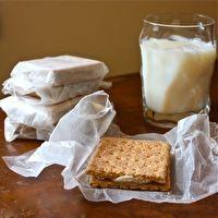 Cheesecake Sandwiches by Carey Wallace