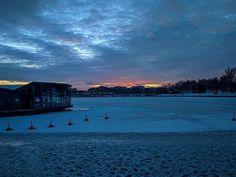 Sunset in winter(ish) wonderland . Winter Sunset, Business Travel, New York Skyline, Wonderland, Amazing