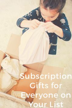 Gifts that keep on giving! #holidaygifts #subscription