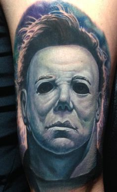 horror movie tattoo sleeve | MichaelMyers.jpg
