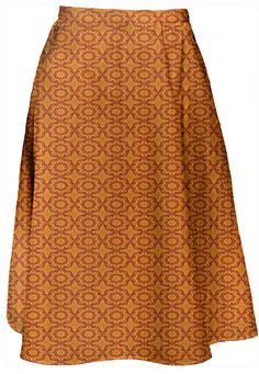 Boho Girl Designer A-Line midi Skirt  by Marijke Verkerk Design. Feel Good Fashion & Living® www.marijkeverkerkdesign.nl