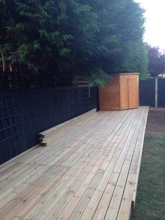 Timber deckings Www.reviveandsanitise.co.uk Timber Deck, Garden Makeover, Outdoor Decor, Home Decor, Wood Deck Railing, Homemade Home Decor, Interior Design, Home Interiors, Decoration Home