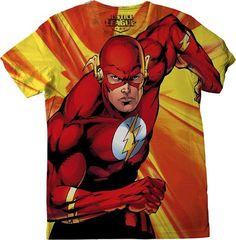 Camiseta de Flash en todas las tallas
