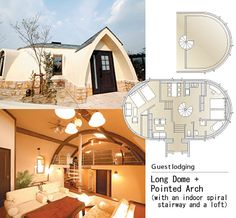 JAPAN DOME HOUSE  | ... home manufacturer Japan Dome House Co., Ltd. uses it to construct easy