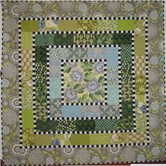 Jeanie O'Sullivan's original Majoring in Botany Quilt seen at The Windy Side (New Zealand)