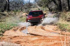 The All-New Cherokee Trailhawk® is a gritty off-road-ready model for those who desire the added capability of a Trail Rated® 2014 Jeep Cherokee Trailhawk, Best Off Road Vehicles, Jeep Cherokee Limited, Jeep Shirts, Offroader, Chrysler Dodge Jeep, Car Images, Jeep Wrangler, Jeep Rubicon