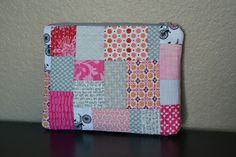Lori H. Designs: Quilt As You Go Pouch Tutorial!