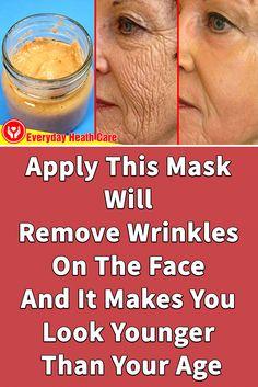 Do you want to Remove Wrinkles On The Face? Today we are going to give you a natural anti-aging facial mask to Remove Wrinkles On The Face and restore youth ski… trong 2020 Natural Wrinkle Remedies, Skin Care Remedies, Home Remedies For Wrinkles, Skin Secrets, Skin Tips, Anti Aging Facial, Anti Aging Face Mask, Face Wrinkles, Wrinkle Remover