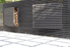 Fence with hidden Storage | installed at Lake Taupo Residence | SurfaceDesign