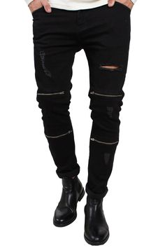 Just Junkies Sicko Zip 398 Black