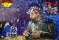 Paper Paintings by Albin Talik: http://www.playmagazine.info/paper-paintings-by-albin-talik/