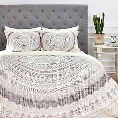 DENY Designs Iveta Abolina Winter Wheat Duvet Cover