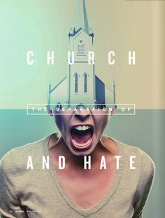 The Separation of Church and Hate. I don't want to be a hater!