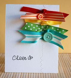 nice ribbon action! by Teri Anderson