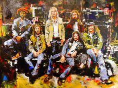 Big House Parlor Painting: Steve Penley.