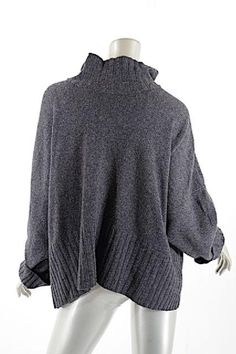08c2640833 Shirin Guild Wool cashmere Mock Neck Sweater Simple Shapes