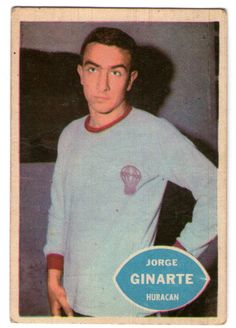 Jorge Ginarte - Huracan #48  1965