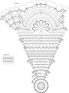 Crochet parasol pattern ~ I so want to try this! Crochet Diy, Col Crochet, Crochet Vintage, Crochet Doily Patterns, Crochet Diagram, Crochet Chart, Crochet Home, Thread Crochet, Filet Crochet