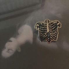 L'esquelet Rib Cage Lapel Pins - Limited Edition of 50 Available <3