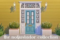 The Notjustador Collection Hey folks! I love some fancy front doors, so this is a set of all 6 doors not pictured) that came with Strangerville, recolored in 16 swatches. Strangerville is. Living Room Sims 4, Sims 4 Cc Furniture Living Rooms, Home Design, Sims House Design, Sims Four, Sims 4 Mm Cc, Maxis, Muebles Sims 4 Cc, Sims 4 Dresses