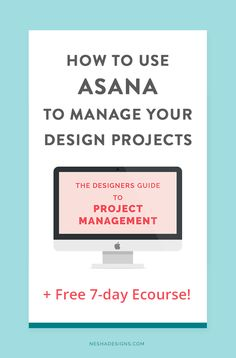 Designers- are your projects stressful and unorganized? Do you manage your projects through emails? It's time to start using a professional project management tool like Asana! Click through to learn how to use Asana for your client projects and join the F Project Management Free, Time Management Tips, Business Management, Creative Business, Business Tips, Online Business, Business Coaching, Business School, Virtual Assistant
