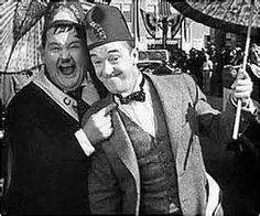 Laurel & Hardy - Sons of the Desert - 1933. Oh dear boys I'm afraid you've been sprung by the wives!