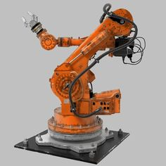 Robot Arm Nachi Lwo - 3D Model