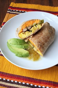 Sweet Potato Breakfast Burritos    by a hint of honey  #Breakfast #SweetPotato #Burritos