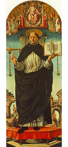 Saint Vincent Ferrer probably about 1473-5, Francesco del Cossa
