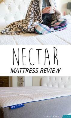 NECTAR mattress is an affordable and convenient memory foam mattress that is perfect for anyone who wants a new bed that won't break the bank.