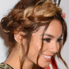 Hair how-to: Get Vanessa Hudgens' halo braid