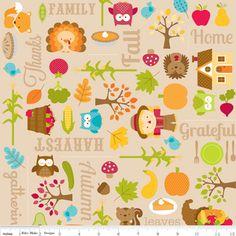 Doodlebug Designs - Happy Harvest - Harvest Main in Brown