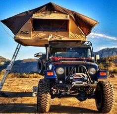 Wrangler TJ with a RTT
