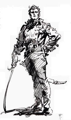 Cap'n's Comics: Gulliver of Mars by Frank Frazetta