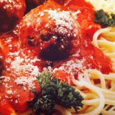 Spaghetti and Meatballs for Two Recipe | Just A Pinch Recipes