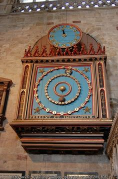 Astronomical Clock at Exeter Cathedral | Devon | England (C) Julian P Guffogg