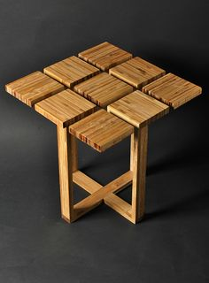 lateral table - bamboo on Behance
