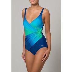 Kostium kąpielowy blue/turquoise, LASCANA