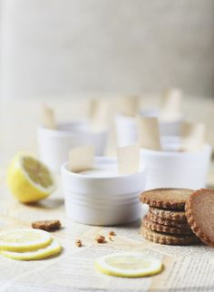 Lemon & Vanilla Cream Sandwiches - Roost - Roost: A Simple Life