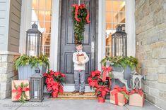 StyleHouseinteriors.net Christmas 2015. Luv me some lanterns.