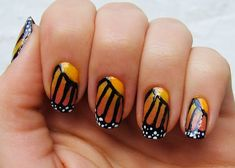 butterfly nails... excellent