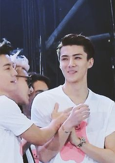 I'm starting to strongly believe that Donghae has strong feelings towards Sehun but Sehun dgaf