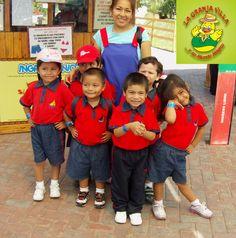 Nuestros amiguitos del Centro Educativo Barquito de Papel