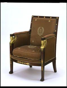 Armchair, Jacob-Desmalter, c. 1805, Paris (Victoria & Albert Museum, London)
