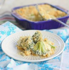 Broccoli Blue Cheese Bake | The Girl Who Ate Everything- like chicken ...