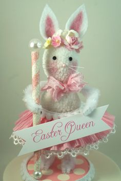 Little Pink Easter Queen from SparkleLovesWhimsy Etsy